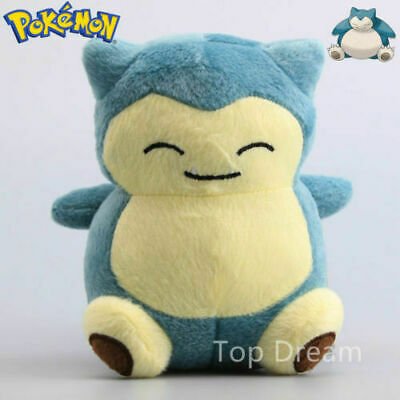 "New 6"" Pokemon Snorlax Kids Toy Plush Stuffed Doll Birthday Gift toys"