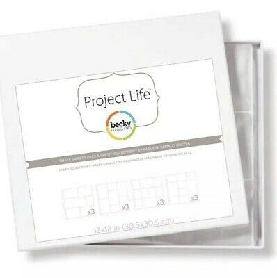Becky Higgins Project Life Photo Pocket Pages Small Variety Pack 6