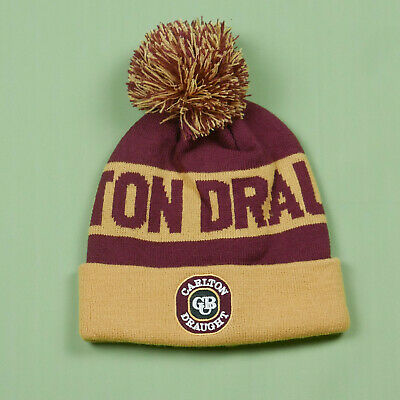 Carlton Draught Beanie Hat Melbourne Beer AFL Brand New