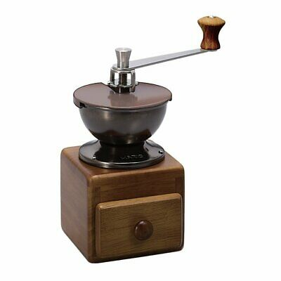 Hario Small Coffee Grinder MM-2 Ceramic mortar Hand Mill Brown Japan NEW F/S