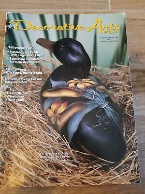 Decorative Arts Digest Magazine September/October 1992 Decorative Painting & Tol