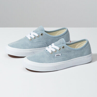 Vans Pig Suede Authentic Skate Sneakers Low Sky Blue VN0A2Z5IV4Z Size US 4-13