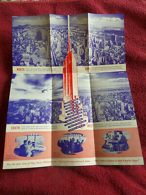1960's Empire State Building Flyer - Poster