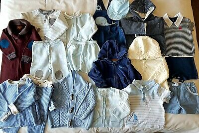 Baby Boys Clothes Bundle Age 6-9 Months, Boden/Miniclub/Next/Mayoral/Mothercare