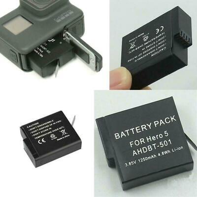 Original 1220mAh Battery-or Dual charger For Gopro 7 Black 2 Hero 6 F8W8 Go W9T9
