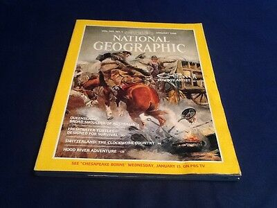 National Geographic Magazine Vol. 169 No. 1 January 1986