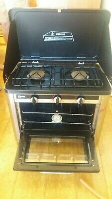 Kampa Roast Master portable/camping  gas oven & 2 burner hob excellent condition