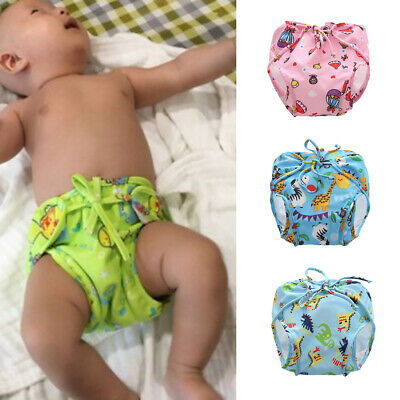 Babies Toddlers Reusable Breathable Swim Diapers Summer Pool Training Pants