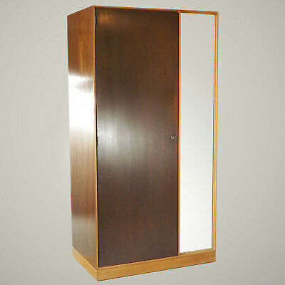 Stag Single Wardrobe (delivery available) John & Sylvia Reid Walnut Retro 60s