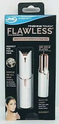 JML Flawless Facial Hair Remover White FTFLESS