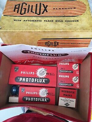 VINTAGE PHILIPS PHOTOFLUX Bulbs Please Read