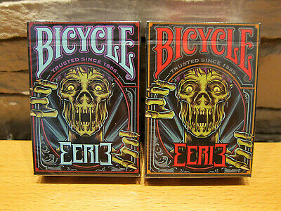 Eerie Playing Cards Horror Red Edition Halloween Deck Undead