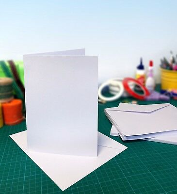Card Blanks and Envelopes from £6.99 for 50- Blank Craft Cards for Card Making