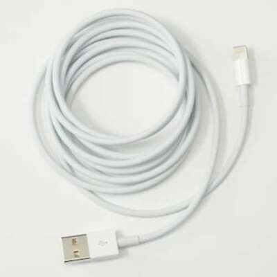 OEM Apple iPhone/iPad 2m/6.5ft Lightning to USB Cable Cord | Grade B | MD819AM/A