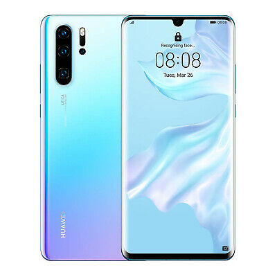 "New Huawei P30 Pro VOG-L29 256GB 8GB 6.47"" Dual SIM Unlocked - Breathing Crystal"
