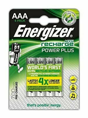 ENERGIZER AA & AAA Rechargeable Ultra Stay Charged Batteries, HR6 HR03 Turbo UK