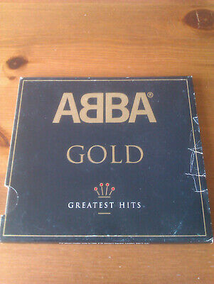 ABBA -GOLD -Greatest Hits -Musik-CD-Album mit 19 Titel