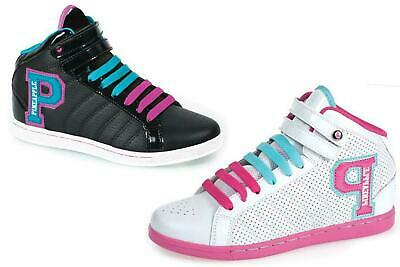 Trainers High Tops Casual White Black Active Leisure Sports Shoes Pineapple