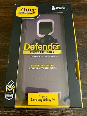 OtterBox Defender Series Screenless Edition Case for Galaxy S9  Purple NEW!