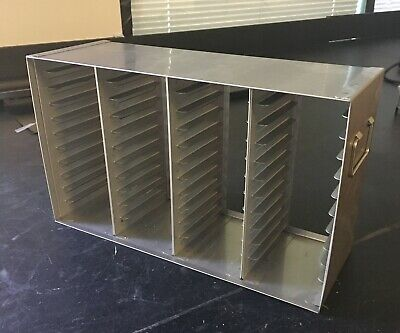 Stainless Steel Freezer Drawer Racks for 96/384 Well Microtiter Plates