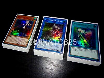 Yugioh Complete Sky Striker Deck! Engage Widow Anchor Aftrburners Phoenix Raye