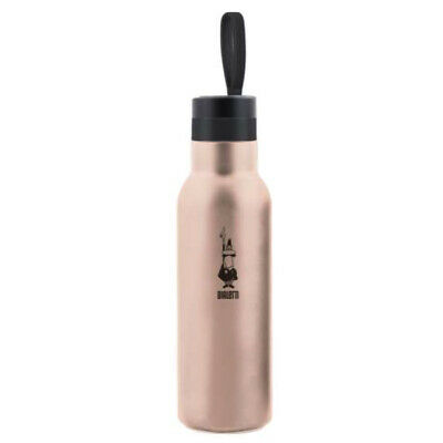 BIALETTI | Bottiglia Termica Take Away 500ml Rose Gold | Bottle Drink to Go