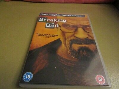 Dvd Boxset Breaking Bad  The Complete Fourth Season
