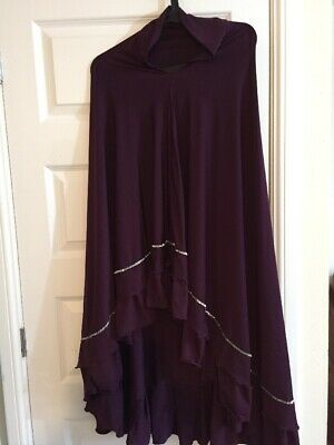 Plum Khimar Muslim Prayer Hijab Long Large Khimar