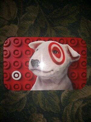 Target * Used Collectible Gift Card NO VALUE * Spot The Dog