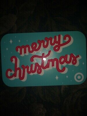 Target * Used Collectible Gift Card NO VALUE * Merry Christmas