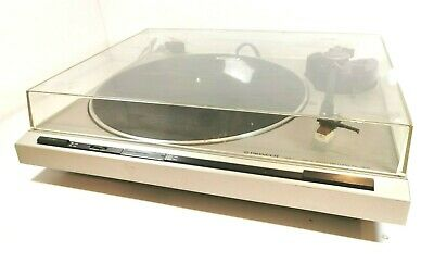 PIONEER PL-320 Direct Drive Semi- Automatic turntable in Silver