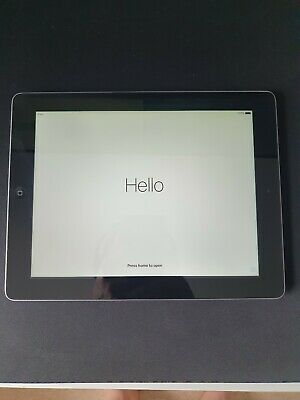 Apple iPad 4th Gen. 16GB, Wi-Fi, 9.7in - Black immaculate condition