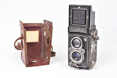 Camera Tlr Vending Rolleiflex Model x with Lens Xenar F/3.5 - 75mm