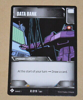 RARE TRANSFORMERS Wave 2 TCGBattle Card = R 011 Bumpers