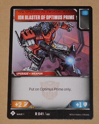 Freedom Fighter TRANSFORMERS TCG Wave 1 Optimus Prime