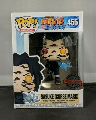 Funko Pop! Animation: Naruto Shippuden - Sasuke (Curse Mark) Oversea Sticker 455