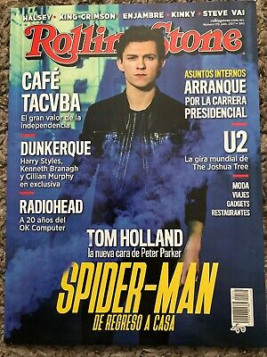 Rolling Stone Magazine 2017 Dunkirk Harry Styles Tom Holland Mexico Spanish