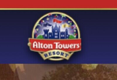 Alton Towers etickets X4 - Sunday 22nd Sepetmber