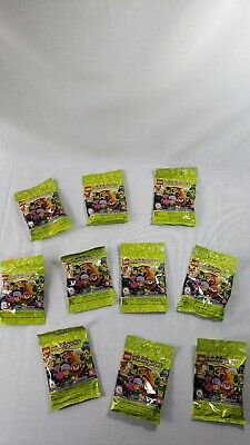 Lego Minifigure Series 19 Blind Bag Lot of 10 - 71025 NEW
