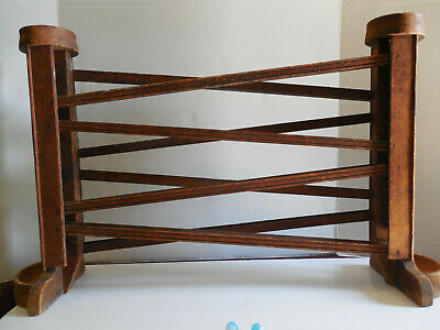 Antique Mid 1800's Mennonite / Amish Pennsylvania Wooden Double Toy Marble Run