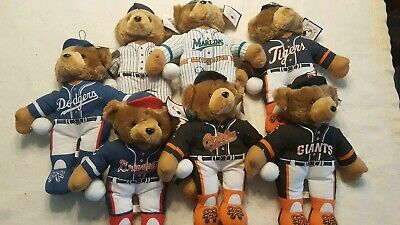 1997/1998 Collection Of MLB Licensed Teddy Bears By Good Stuff