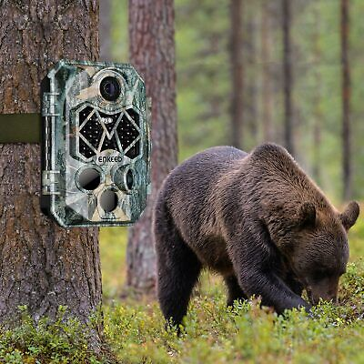 12MP 1080P HD Trail Game Wildlife Hunting Camera 42 LEDs IR Night Vision IP66