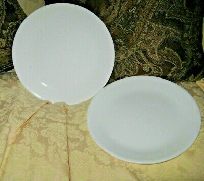 Corelle Dinner Plates Winter Frost White 4 Pc. Top Shape  10 1/4 In