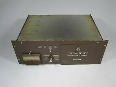 Orban 8182A/SG Optimod-TV Television Stereo Generator Power Test ONLY AS-IS