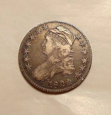 1824/Varoius dates Capped Bust Half - O.103 - Very Nice Looking Coin
