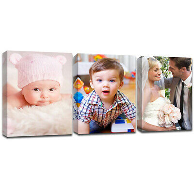 Canvas Print Your Photo On Large Personalised 38Mm Deep Framed Various Sizes