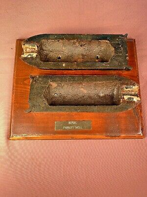 Civil War 10 Pound Parrott Cannon Artillery Shell Cut Away table top display