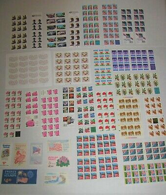 32 US Complete Booklets & Bkt. Panes - Mint NH Face Value $189.91