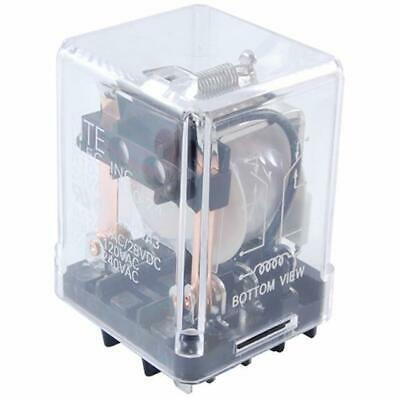 NEW NTE R10-11A10-120 120 Volt AC Coil, 10 Amp DPDT General Purpose Relay