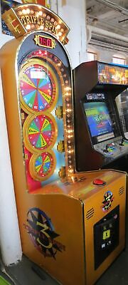 Triple Spin STOP THE WHEEL REDEMPTION ARCADE TICKET GAME Shipping Available